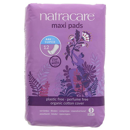 Natracare Press on Towels - Super