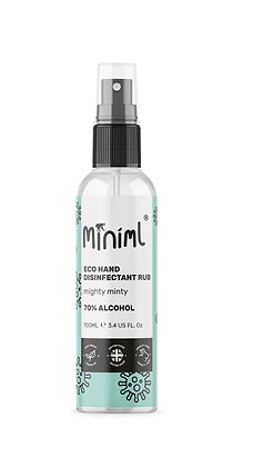 Miniml Hand Rub 100g (Mighty Minty)