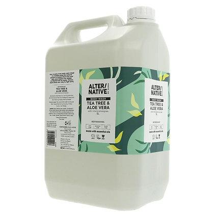 Tea Tree + Aloe Vera Body Wash 100g