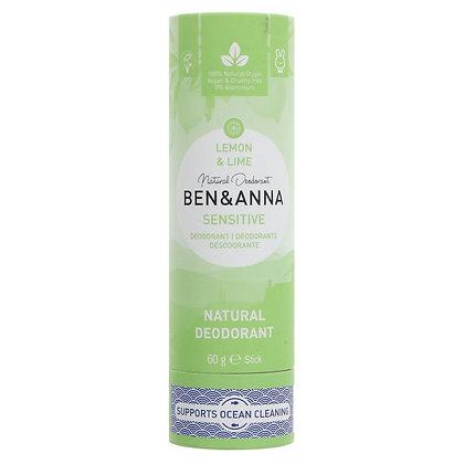 Ben and Anna Sensitive Deodorant Stick