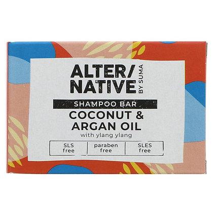 Coconut + Argan Shampoo Bar 90g