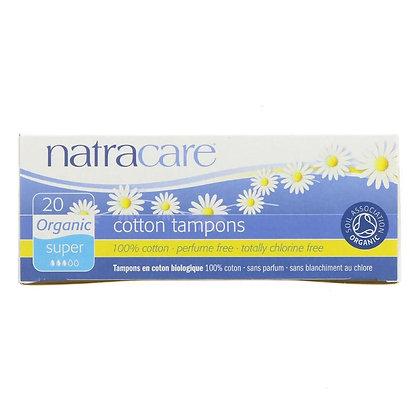 Natracare Tampons No Applicator - Super