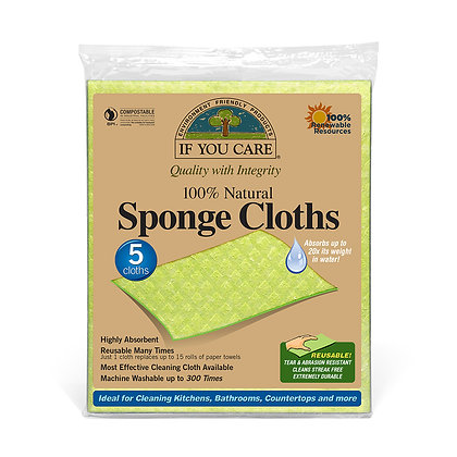 If you Care -Sponge cloths