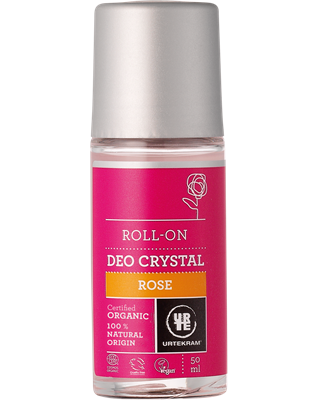 Urtekram Crystal Roll-on Deodorant -Rose