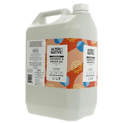 Coconut + Argan oil Shampoo 100g
