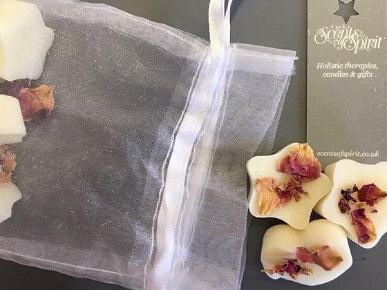 Geranium, Ylang Ylang & Patchouli Soy Wax Melts x 6