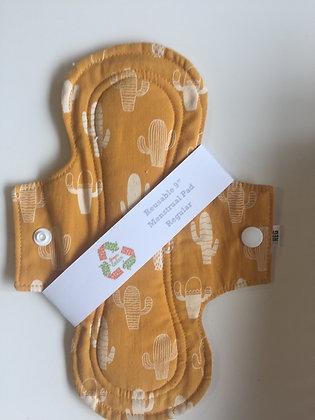 Reusable menstrual pad - med