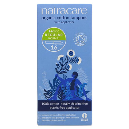 Natracare Tampons with applicator- Regular