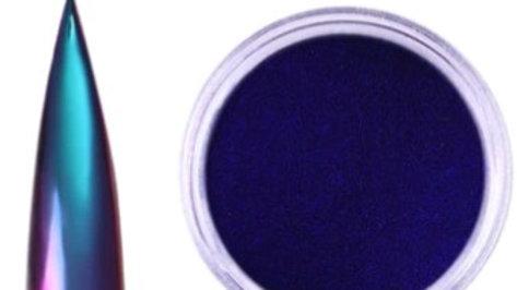 Teal & Purple Chameleon Nail Mirror Powder (Use with UV LED Gel Polish)