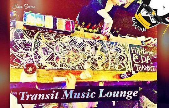 Transit Music Lounge Chalk Night
