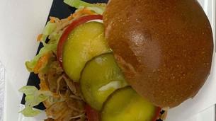 Proef onze heerlijke Pulled Chicken Burger