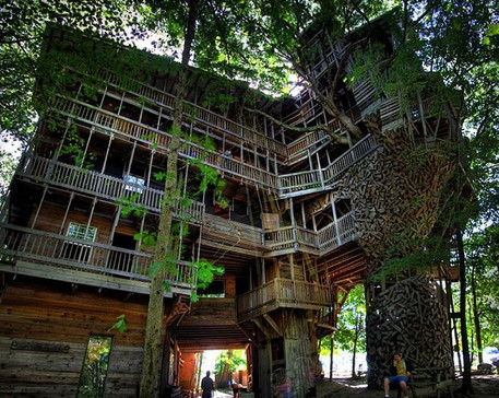 Minister's Treehouse (Crossville, Tennessee, USA)
