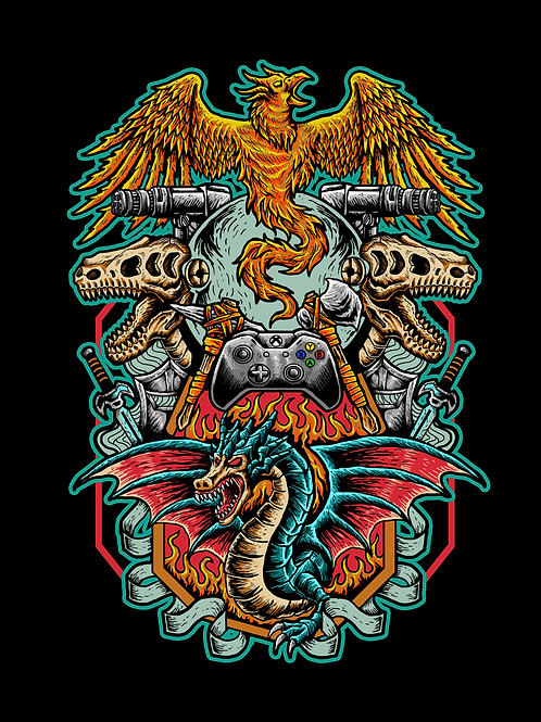 Phoenix Rising Tee (Without Hive Name)