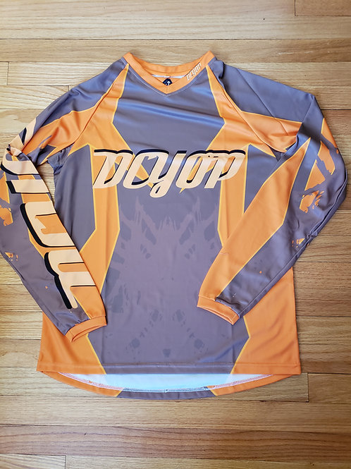 DCYOP BMX JERSEY Orange/Brown