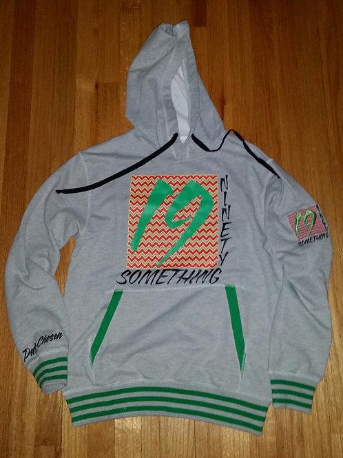 Heather Grey 1990 Something hoodie