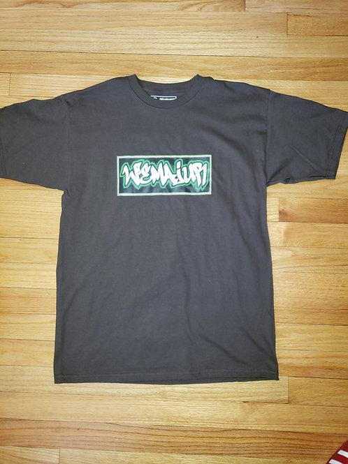 Graffiti WEMAJUR T-shirt/BROWN