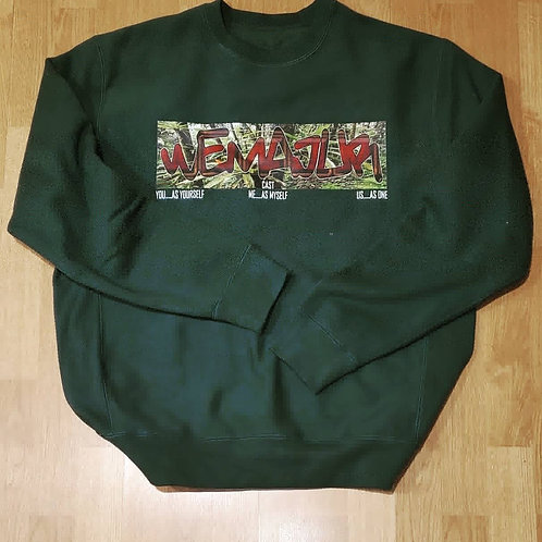 "WEMAJUR ""LIVING IN A MOVIE"" CREWNECK SWEATSHIRT"