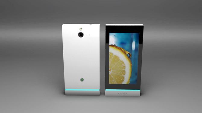 Sony Xperia U Phone Concept design