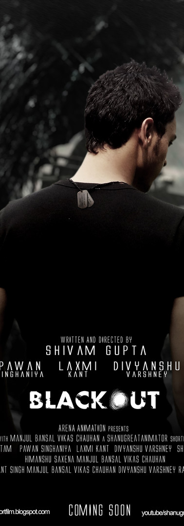 Blackout Film Poster