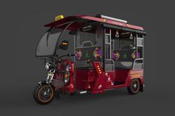 Rajhans E-Rikshaw 3D