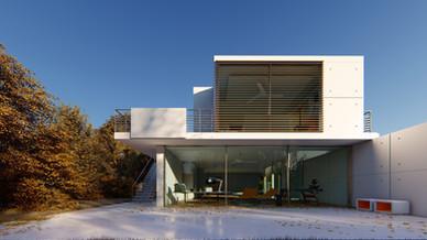 Hill Villa Architecture Visualization