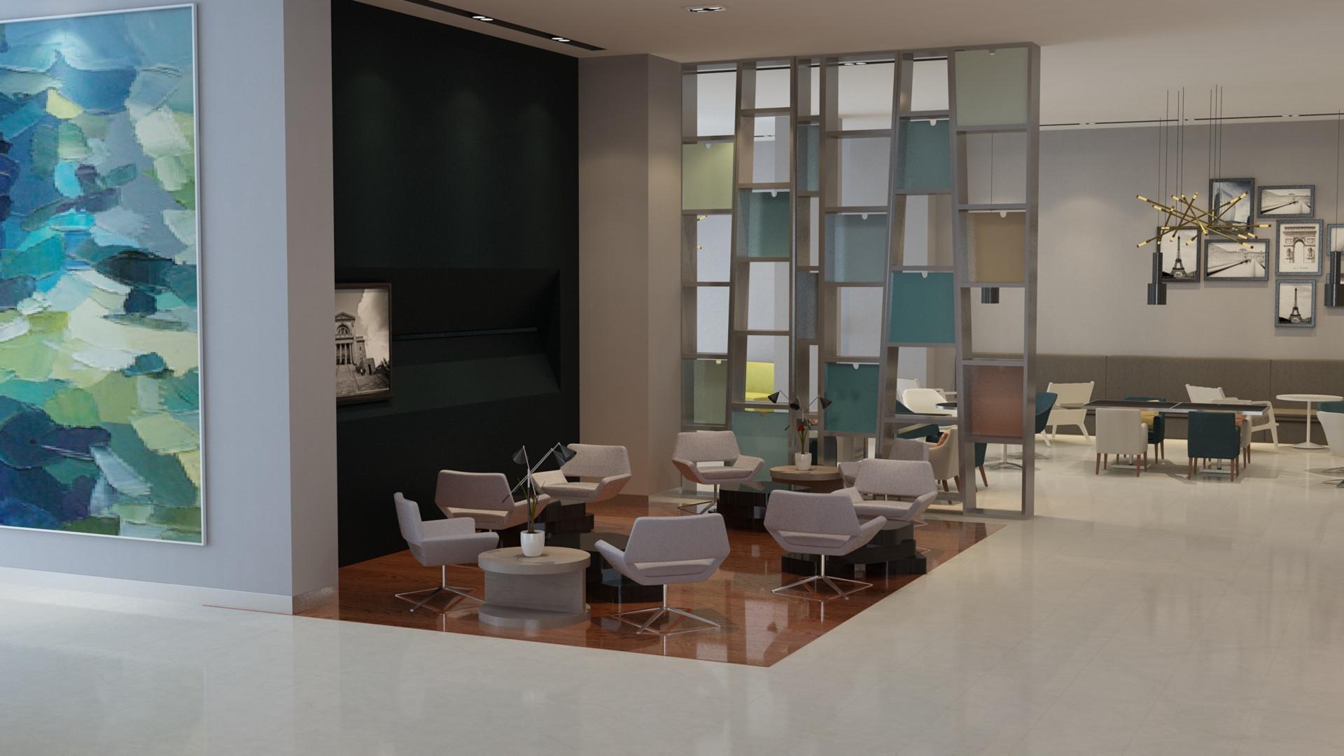 Cafe Interior Visualization