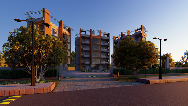Jaypee Apartments Architecture Visualiza