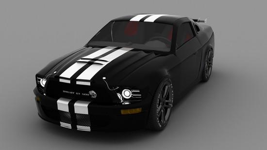 Shelby Gt Car Design