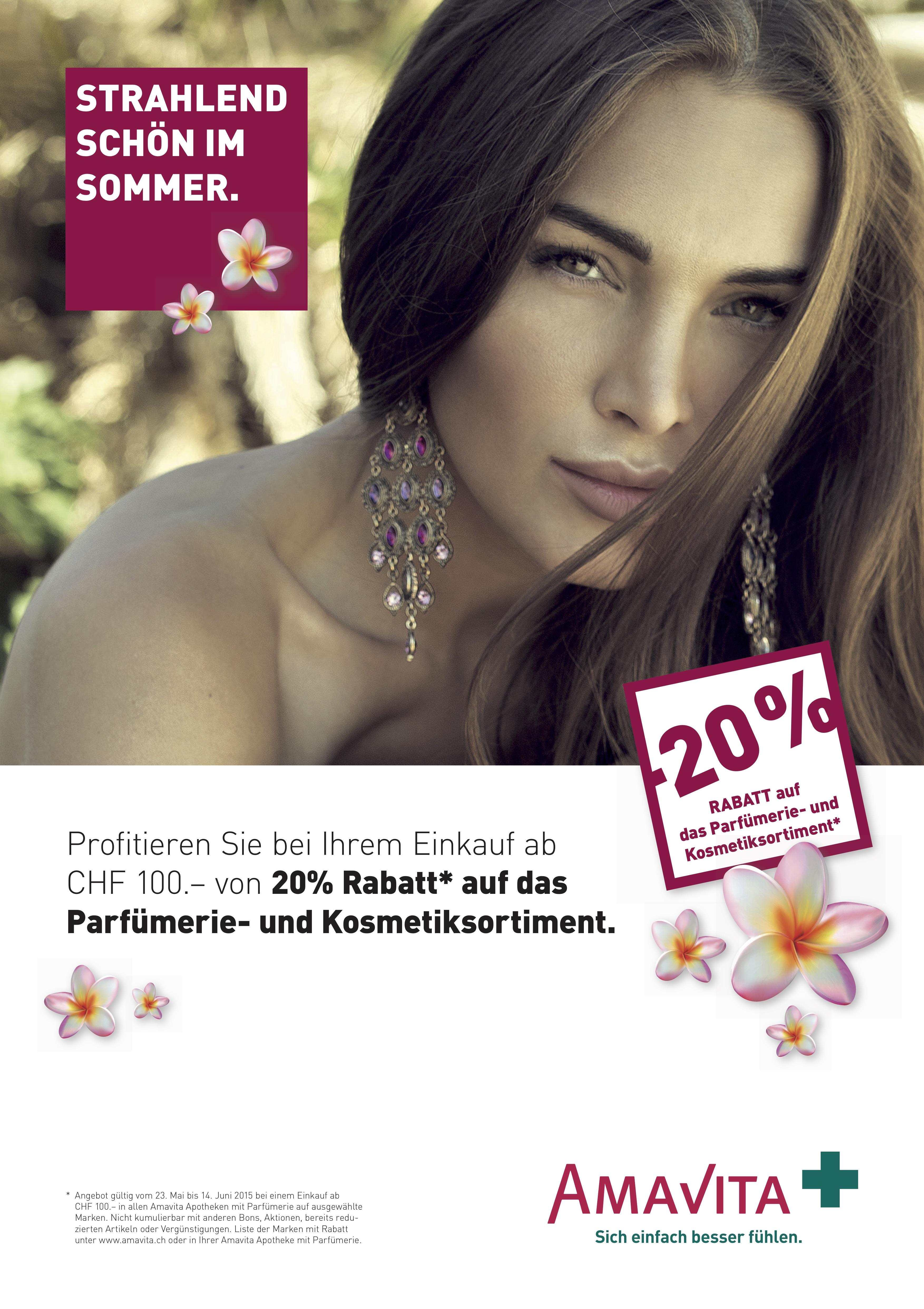 Amavita Parfümeriekampagne 2015