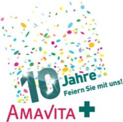 Amavita Jubiläumslogo 2015