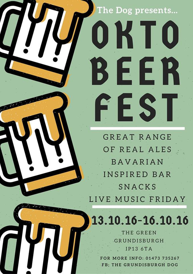 OktoBEERfest, live music & Bavarian themed bar snacks