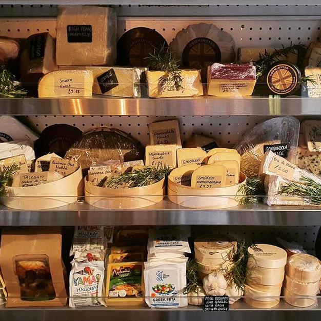 The cheese fridge