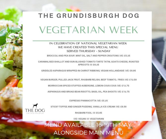 National Vegetarian Week 16th-19th May