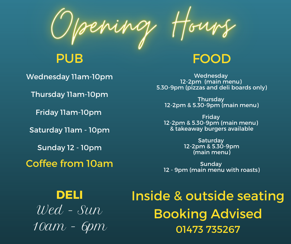 Copy of OPENING HOURS Friday 10th Saturd