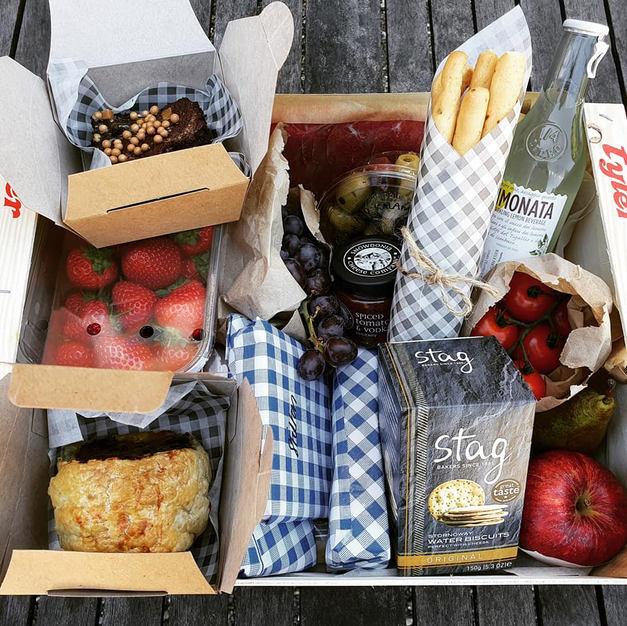 Bespoke picnic hamper