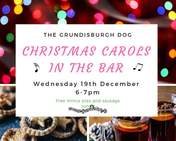 Carols in the Bar