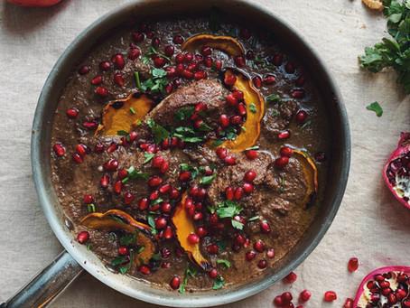 Fesenjoon - Walnut & Pomegranate Persian Stew