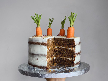 Carrot Cake w Cream Cheese Frosting