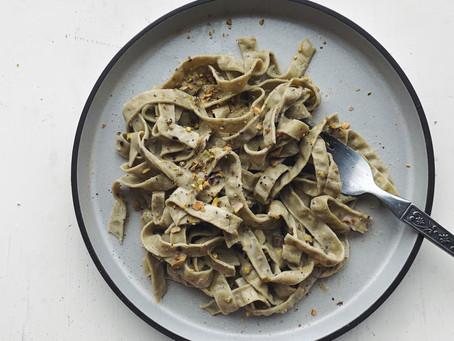 Creamy Pistachio and Cardamom Pasta Sauce