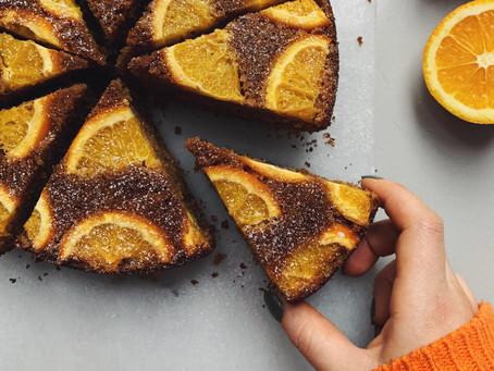 Orange and Cardamom Cake