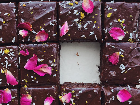 Vegan, Grain Free Fudge Brownies
