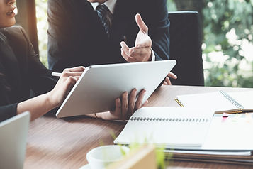 business-woman-lawyers-discussing-using-