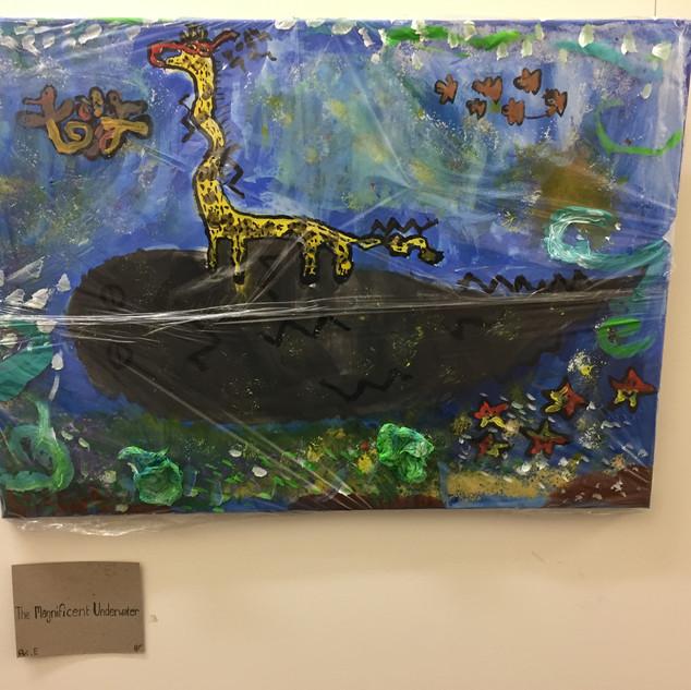 The Magnifecent underwater