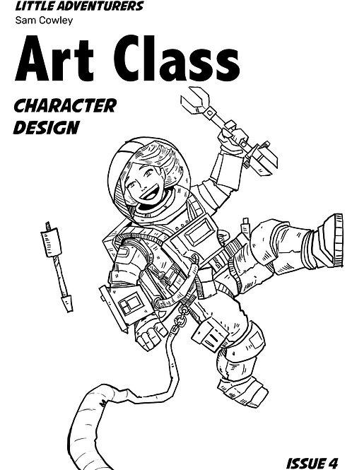 Little Adventurers Art Class Issue 4