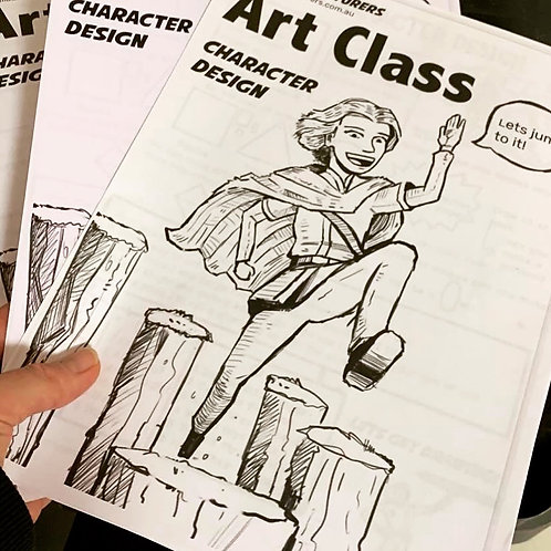 Art Class Booklet Issue 1