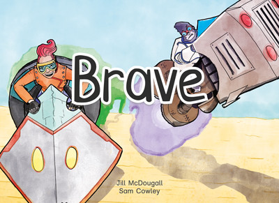 Brave front cover.