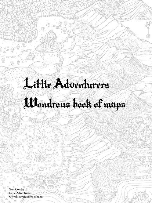 Little Adventurers Wondrous Book of Maps: Digital Download