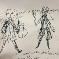 Ameie Character Design wk 1