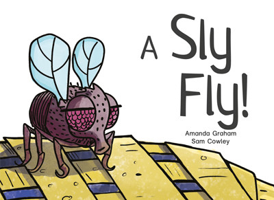 A sly fly front cover