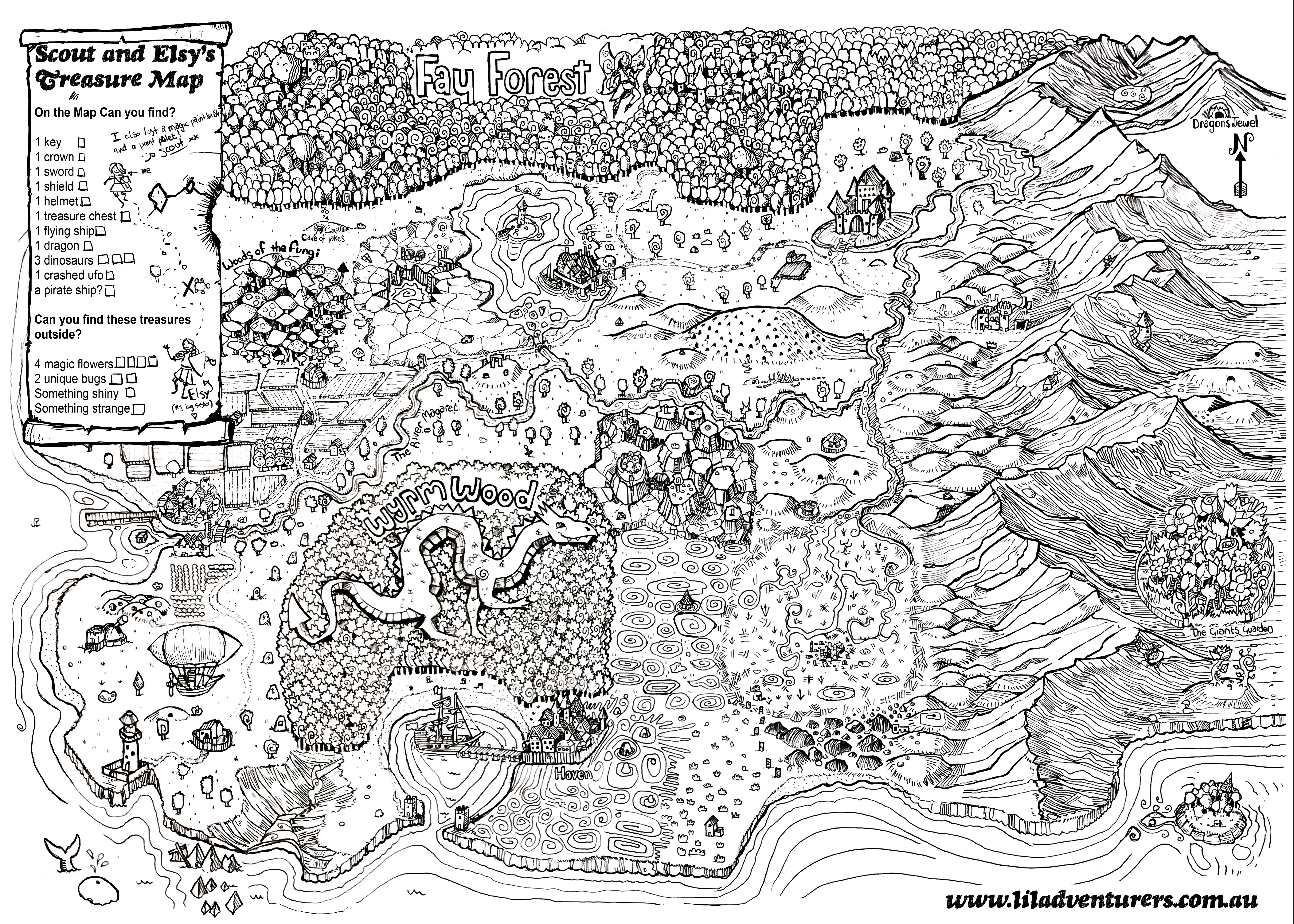 Little Adventurers Map Mk2.5